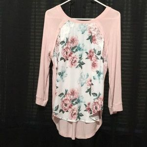 Justify floral blouse